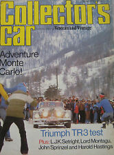 Collector's Car magazine 03/1980 featuring Triumph TR3, Ford Model T