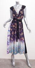 MARC JACOBS $1200 Womens VICTORIAN Multicolor Floral Midi Dress 8/M NEW NWT
