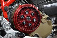 Kbike carter frizione rosso per Ducati - clutch cover red for Ducati