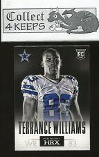 2013 Panini HRX Rookie #20 Terrance Williams RC (Dallas Cowboys)