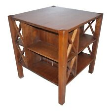 Antique J.M. Young mission book/ table cabinet arts and crafts