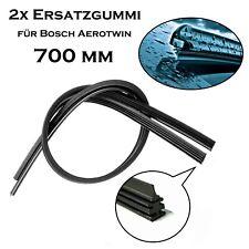 2x 700 mm Premium Qualität Scheibenwischer Gummi für Bosch Aerotwin für VW