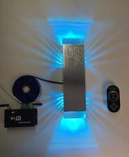 """SpiceLED®-Wandleuchte """"ShineLED-10+"""" 2x5W RGB 12V 10 Watt BD057-10-RGB-G"""