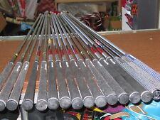 ( 14) golf pride  shafts .( 3 ) Lamkin   17 in total!