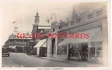 South Africa - KIMBERLEY, Jones Street, Showing Shops  - Real Photo, used 1928.