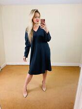 Sahara M Grey Jumper Dress Merino Wool Cashmere Oversized