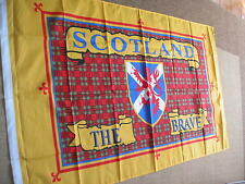 SCOTLAND THE BRAVE SCOTTISH  FLAG 3 x 2 NEW