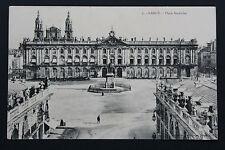 Tarjeta postal antigua CPA NANCY - Plaza Stanislas