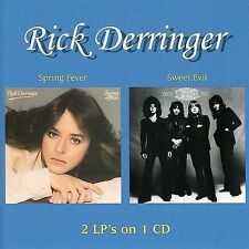 Spring Fever/Sweet Evil by Rick Derringer (CD, Jul-2004, Wounded Bird)