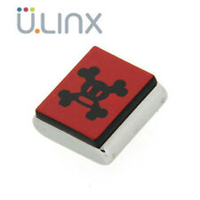 Charm magnetico CLIX -  Skurvy Square Black on Red