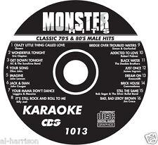 KARAOKE MONSTER HITS CD+G CLASSIC 70's & 80's MALE HITS #1013