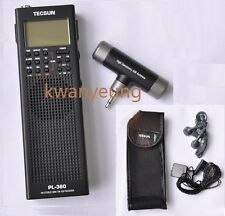 TECSUN Radio PL-360 PLL DSP AM/FM/SW/LW/MW Power Save Multi-function Easy Using!