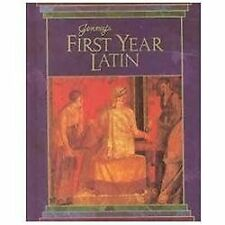 Jenney's First Year Latin, Thomas K. Burgess, Eric C. Baade, Charles Jenney, Jr.