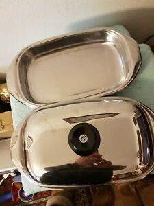 AMC Lasagnere 2Stck und 1 Deckel