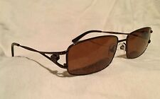 Sergio Tacchini Rx Sunglasses ST1133 S T905 55/15/130 Metallic Brown Rectangular