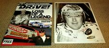 SIGNED Tom McEwen NHRA Vintage 1970s Photo and Drive Magazine SNAKE and MONGOOSE