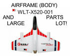 RC VTOL airplane - XK X520 Airframe (body) and PARTS LOT - impossible to find!