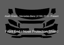 Mercedes GLA-Class 45 AMG X156 Front End CLEAR Stone chip Protection Decal Foil