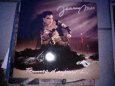 """LP 12"""" JEANNE MAS FRANCE FEMMES D'AUJOURD'HUI + INNER SLEEVE EX+"""