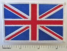 GREAT BRITAIN - EMBROIDERED U.K. UNITED KINGDOM FLAG SOUVENIR PATCH