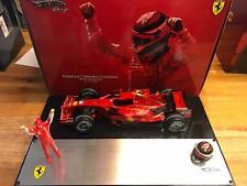 Hot Wheels Ferrari F2007 Raikkonen World Champion Brazil 2007 1/18 M0551