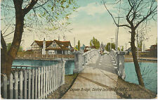 "Canada 1920 very fine mint coloured pc ""Lagoon Bridge, Centre Island, Toronto"""