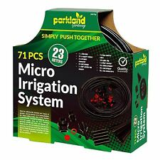 71PC Micro Irrigation System 23M Automatic Garden Watering Kit Easy Fit