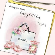 Personalised Birthday Card Sister Friend Grand Mother Daughter Cousin18 21 30 40