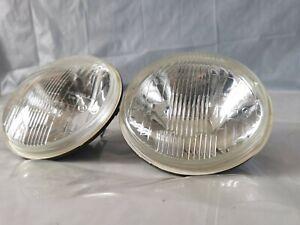 Pair Lights Unit Headlight Fiat 850 Sport Coupe Interior CARELLO NOS
