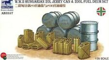 Bronco 1/35 Scale WWII Hungarian 20L Jerry Can & 200L Fuel Drum  Kit No. AB3557
