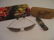 New Maui Jim Baby Beach Sunglasses Gold HCL Bronze Polarized HS245-16