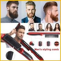Electric Straight Hair/Beard Comb Brush Beauty Hair Styling Tool