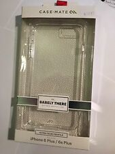 CASE-MATE Barely There Protector Case in Clear for Apple iPhone 6+, 6S+ CM031801