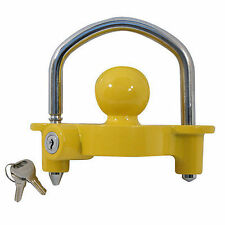 High Security Hitch lock Caravan Trailer Hitch Coupling Tow Ball Lock Universal