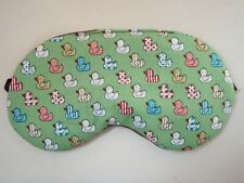 EYE MASK SLEEP *Cute Ducks Soft Cool Cotton Blindfold Camping Flights Festival