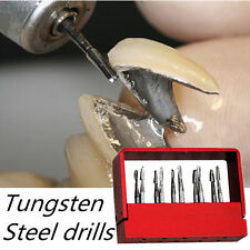 10pcs/1 box Dental Tungsten Steel Drills/Burs For High speed Handpiece FG-1957