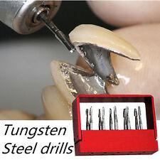 10pcs/1 box Dental Tungsten Steel Drills/Burs For High speed Handpiece FG-1957