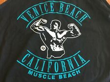 Arnold Schwarzenegger Venice/Muscle Beach California Singlet Tank Bodybuilder
