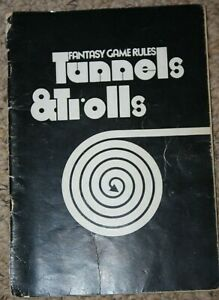 RARE TUNNELS AND TROLLS PUBLICATIONS MULTI LIST RULES ADVENTURES D&D