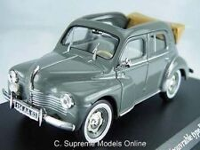 RENAULT 4CV BERLINE R1062 '53 CAR MODEL 1/43 SCALE GREY COLOUR EXAMPLE T3412Z(=)