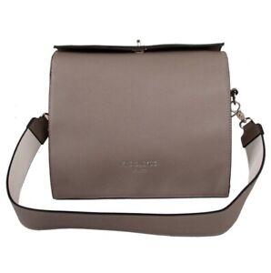 New Red Cuckoo Large Grey Vegan Shoulder Bag Handbag