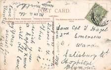 Lance Cpl T.Hazel, 3rd Somersets, 1916, Salisbury Rd Hospital, Plymouth   qq1263