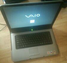 Sony Vaio VGN-A197VP Laptop. Light on.