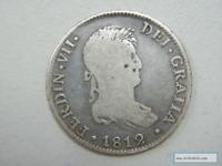 Moneda Moneda de Fernando VII 1812 4 Reales, Cádiz
