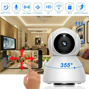 HD 1080P IP Security Camera Wifi Wireless CCTV Home Baby Monitor IR Night Vision