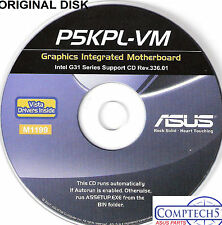 ASUS GENUINE VINTAGE ORIGINAL DISK FOR P5KPL-VM Motherboard Drivers Disk M1199