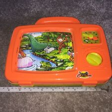 Forest & Jungle Animals Children's Musical TV Wind Up Scrolling Television Toy