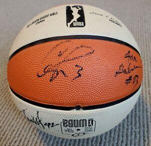 2016 LOS ANGELES LA SPARKS TEAM SIGNED BASKETBALL CANDACE PARKER GRAY TOLIVER