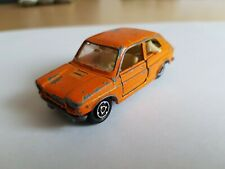 MAJORETTE FIAT 127 / no. 203 / Made in France / Orange / scale 1/55