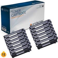 12 Non OEM 12A Q2612A Black Toner Cartridge LaserJet 1010 1015 3015 3030 3055
